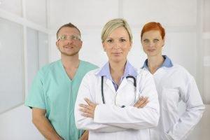 Groupe de médecin
